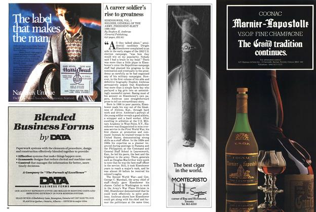 Article Preview: A career soldier's rise to greatness, October 1983 | Maclean's