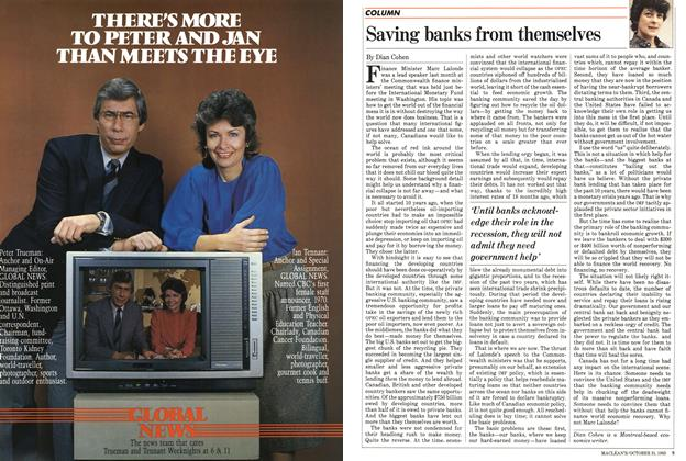 Article Preview: Saving banks from themselves, October 1983 | Maclean's