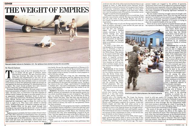 Article Preview: THE WEIGHT OF EMPIRES, November 1983 | Maclean's