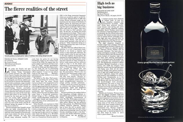 Article Preview: The fierce realities of the street, November 1983 | Maclean's