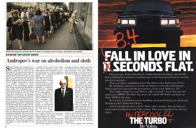 Article Preview: Andropov's war on alcoholism and sloth, November 1983 | Maclean's