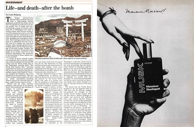 Article Preview: Life-and death-after the bomb, November 1983 | Maclean's