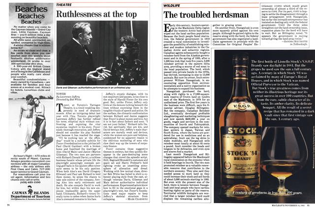 Article Preview: Ruthlessness at the top, November 1983 | Maclean's