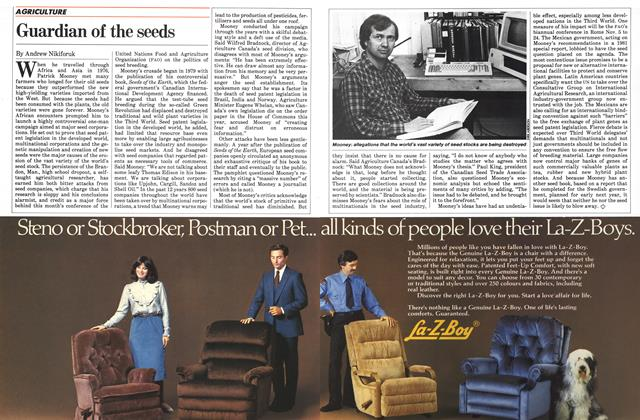 Article Preview: Guardian of the seeds, November 1983 | Maclean's