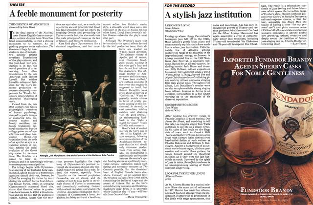 Article Preview: A stylish jazz institution, November 1983 | Maclean's