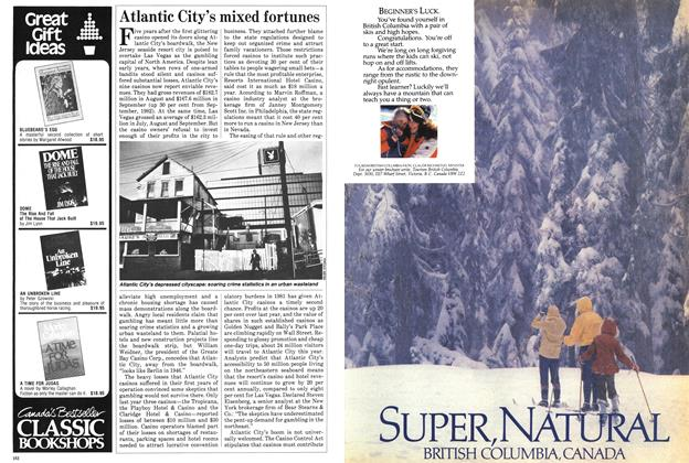 Article Preview: Atlantic City's mixed fortunes, November 1983 | Maclean's