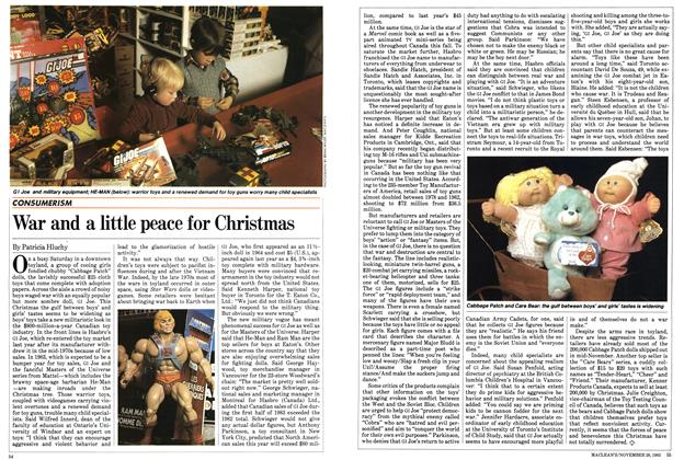 Article Preview: War and a little peace for Christmas, November 1983 | Maclean's