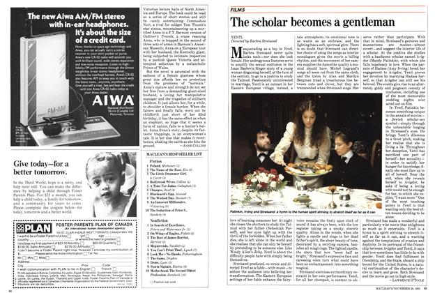 Article Preview: The scholar becomes a gentleman, November 1983 | Maclean's