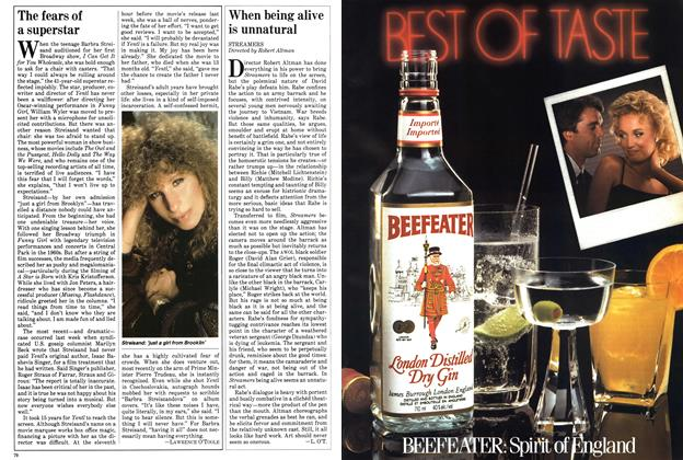 Article Preview: When being alive is unnatural, November 1983 | Maclean's