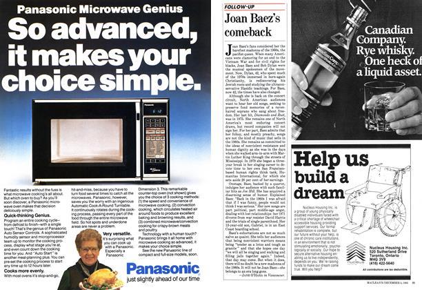 Article Preview: Joan Baez's comeback, December 1983 | Maclean's