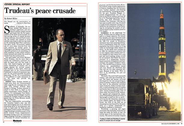 Article Preview: Trudeau's peace crusade, December 1983 | Maclean's