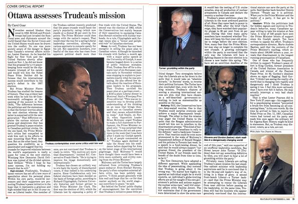 Article Preview: Ottawa assesses Trudeau's mission, December 1983 | Maclean's