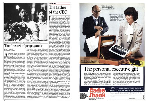 Article Preview: The father of the CBC, December 1983   Maclean's