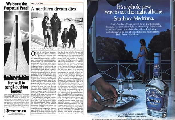 Article Preview: A northern dream dies, December 1983 | Maclean's