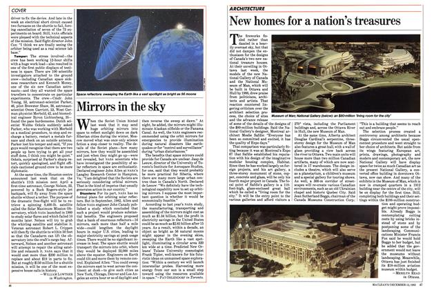 Article Preview: New homes for a nation's treasures, December 1983 | Maclean's