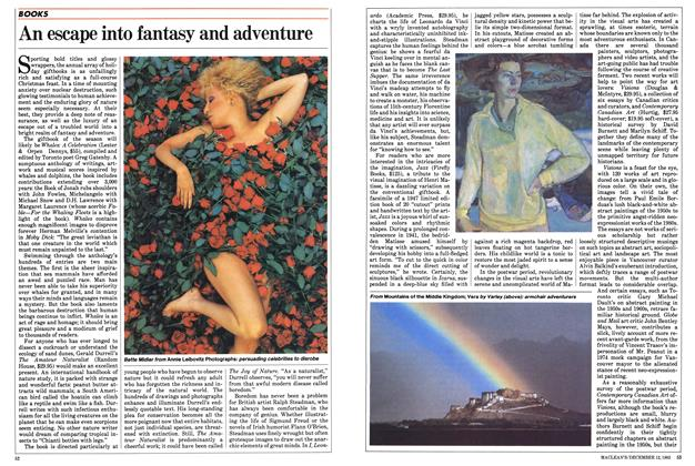 Article Preview: An escape into fantasy and adventure, December 1983 | Maclean's