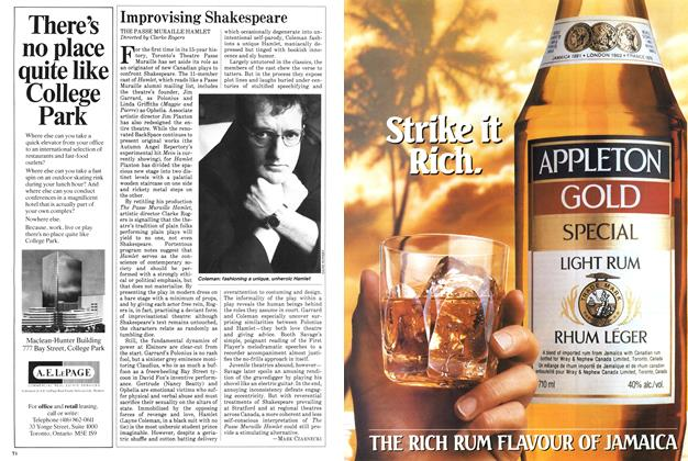 Article Preview: Improvising Shakespeare, December 1983 | Maclean's