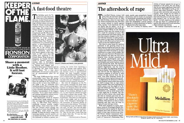 Article Preview: The aftershock of rape, December 1983 | Maclean's