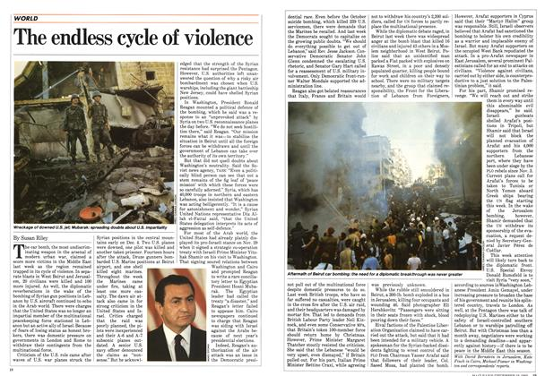 Article Preview: The endless cycle of violence, December 1983 | Maclean's