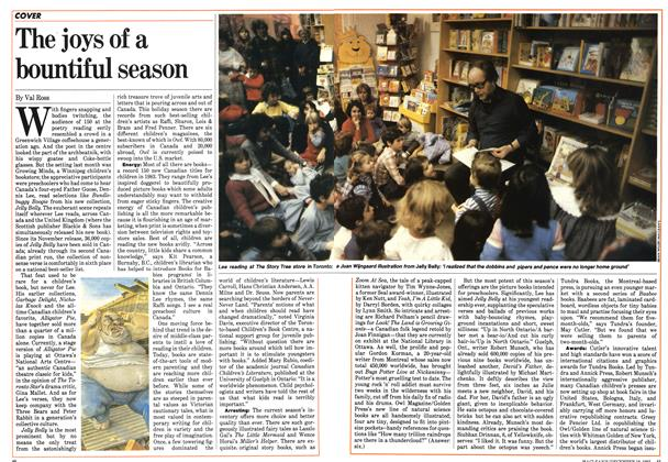 Article Preview: The joys of a bountiful season, December 1983 | Maclean's