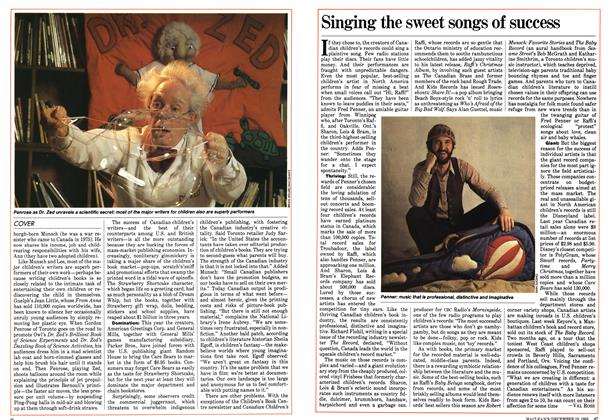Article Preview: Singing the sweet songs of success, December 1983 | Maclean's