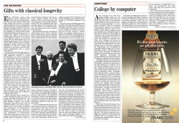 Article Preview: College by computer, December 1983 | Maclean's