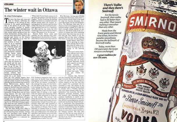 Article Preview: The winter wait in Ottawa, December 1983 | Maclean's