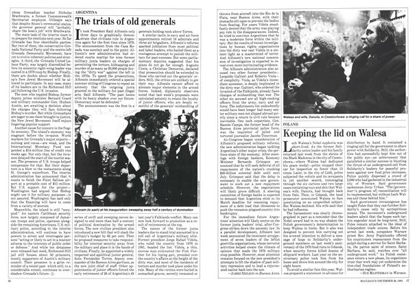 Article Preview: Keeping the lid on Walesa, December 1983 | Maclean's