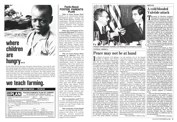 Article Preview: Peace may not be at hand, December 1983 | Maclean's
