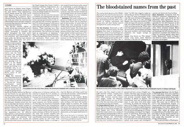 Article Preview: The bloodstained names from the past, December 1983   Maclean's
