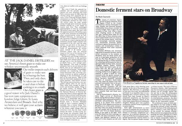 Article Preview: Domestic ferment stars on Broadway, December 1983 | Maclean's