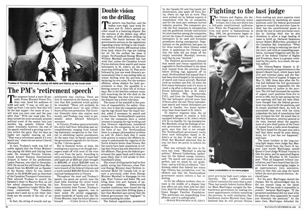 Article Preview: Fighting to the last judge, December 1983 | Maclean's
