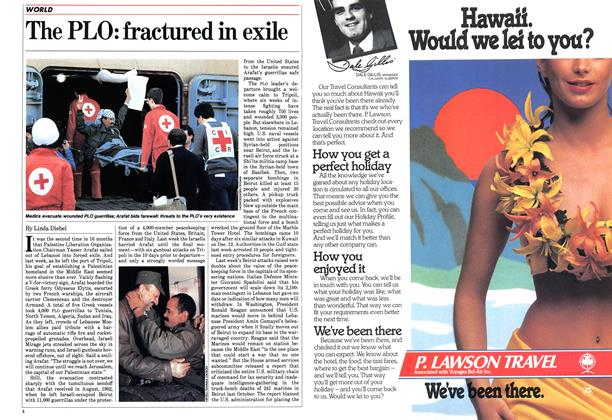 Article Preview: The PLO: fractured in exile, January 1984 | Maclean's