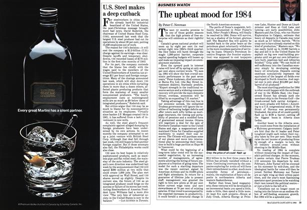 Article Preview: The upbeat mood for 1984, January 1984 | Maclean's