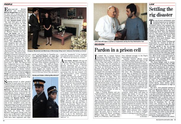 Article Preview: Pardon in a prison cell, January 1984 | Maclean's