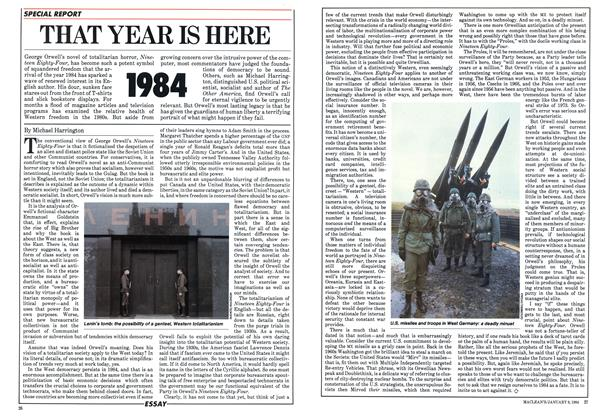 Article Preview: THAT YEAR IS HERE 1984, January 1984 | Maclean's