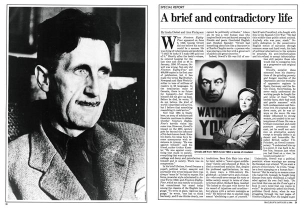 Article Preview: A brief and contradictory life, January 1984 | Maclean's