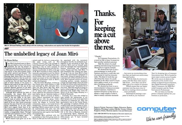 Article Preview: The unlabelled legacy of Joan Miró, January 1984 | Maclean's