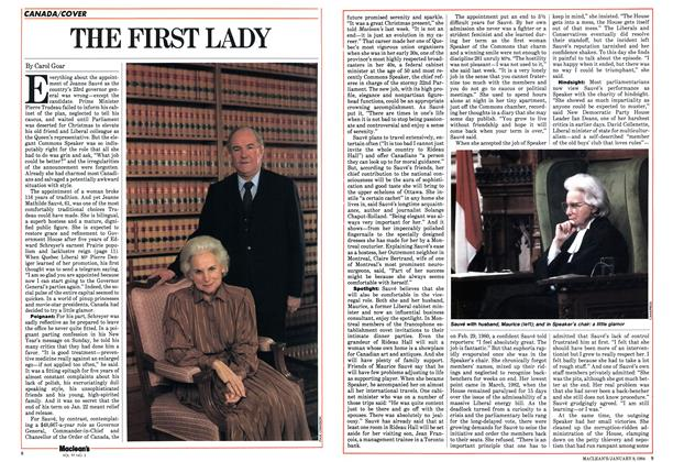 Article Preview: THE FIRST LADY, January 1984 | Maclean's