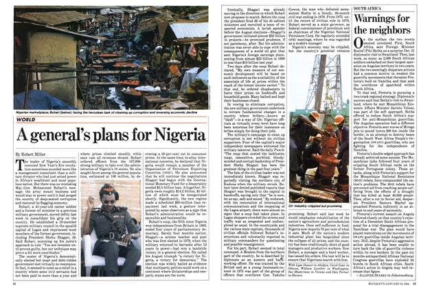 Article Preview: A general's plans for Nigeria, January 1984 | Maclean's