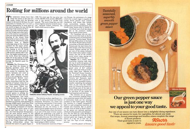 Article Preview: Rolling for millions around the world, January 1984 | Maclean's