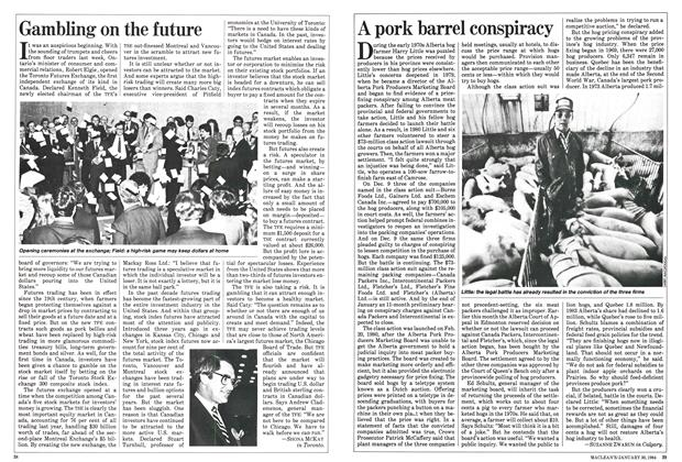 Article Preview: A pork barrel conspiracy, January 1984 | Maclean's