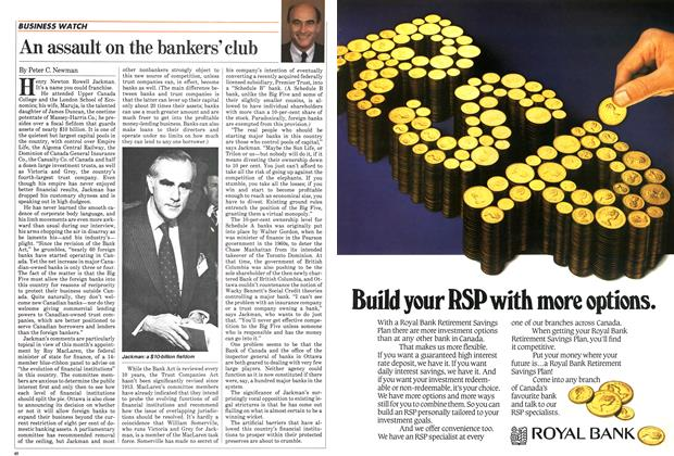 Article Preview: An assault on the bankers'club, January 1984 | Maclean's