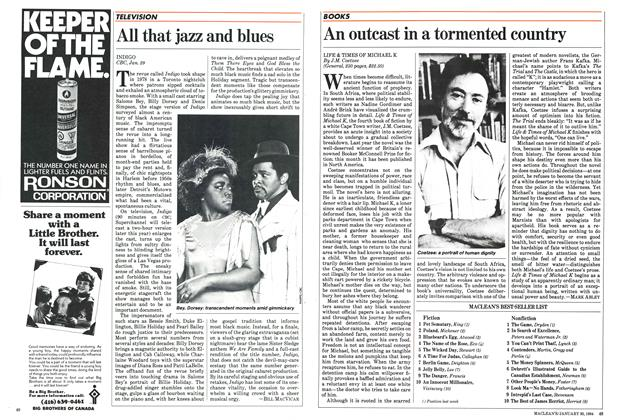 Article Preview: All that jazz and blues, January 1984 | Maclean's