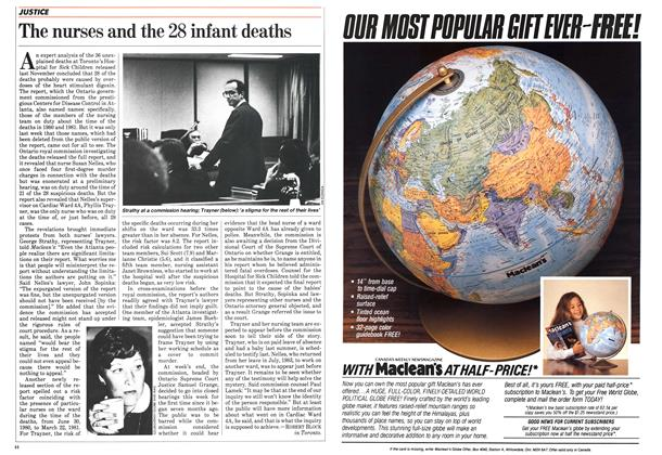 Article Preview: The nurses and the 28 infant deaths, February 1984 | Maclean's