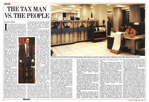 Article Preview: THE TAX MAN VS. THE PEOPLE, February 1984 | Maclean's
