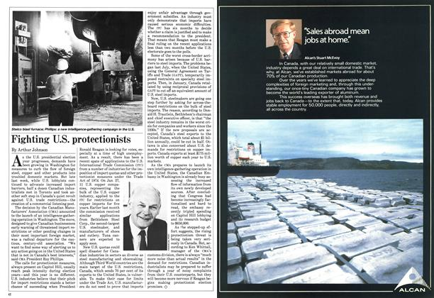 Article Preview: Fighting U.S. protectionists, February 1984 | Maclean's
