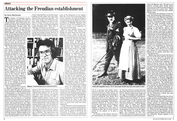 Article Preview: Attacking the Freudian establishment, February 1984 | Maclean's