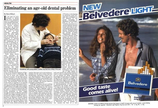 Article Preview: Eliminating an age-old dental problem, February 1984 | Maclean's