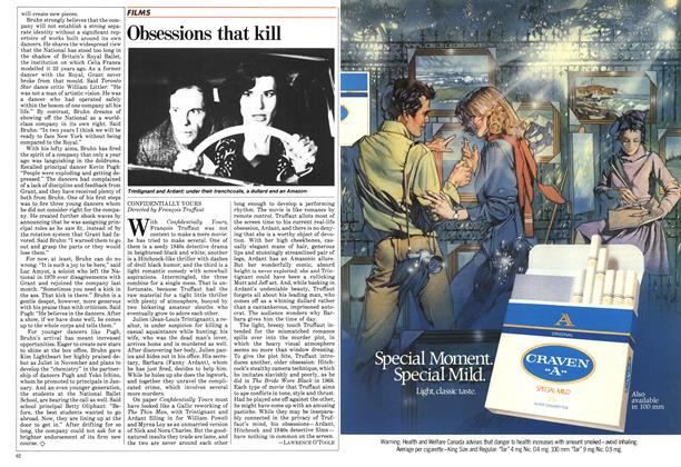 Article Preview: Obsessions that kill, February 1984 | Maclean's